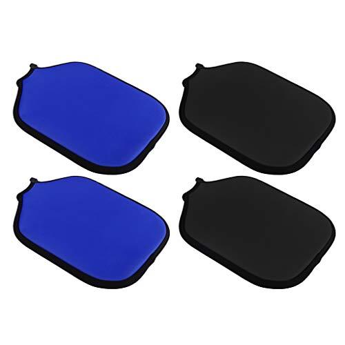 yotijar Pack de 4 Paddle de neopreno Sport Light Negro/Azul
