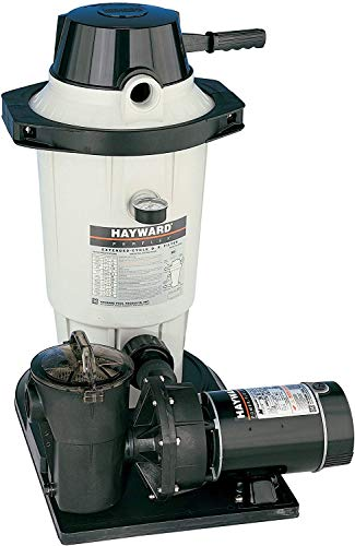 Hayward C4001575XES EasyClear Above-Ground D.E. Pool Filter Pump System - 1 HP