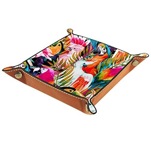 rogueDIV Bandeja plegable de cuero para dados con broches para DND, juegos de mesa, loros de almacenamiento y hojas de...