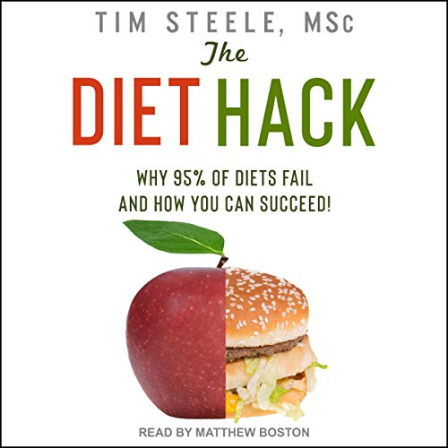 The Diet Hack audiobook cover art