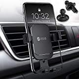 Syncwire Upgraded Phone Holder for Car - Gravity Car Phone Holder, Auto Lock