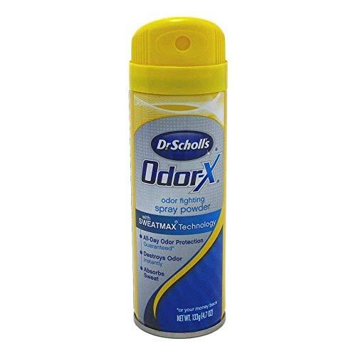 Dr Scholls Odor-X Odor Fighting Spray Powder 4.7 Ounce