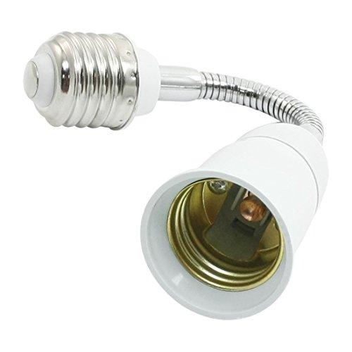 SODIAL(R) Light Lamp Bulb Flexible Extension Converter E26 Socket 18cm Long