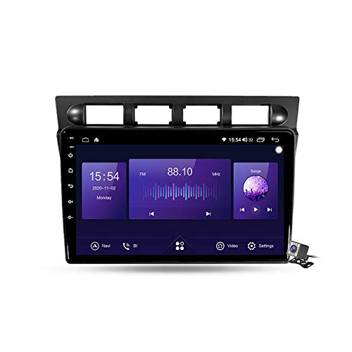 Android 10 Autoradio Stereo GPS Navigatore 2 DIN con 9' Schermo per Kia Picanto SA Morning 2004-2007 Supporto FM AM RDS DSP/Controllo del Volante/Carplay Android Auto/BT Vivavoce ,7862: 6+128gb