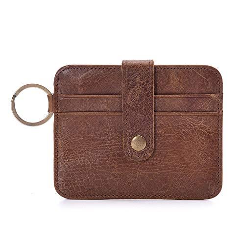 HANGYIKJ Herrenbrieftasche Große Kapazität Casual Clutch Bag tragbare Multi-Karten-Brieftasche Multifunktionale Geldbörse Dünnschliff Retro