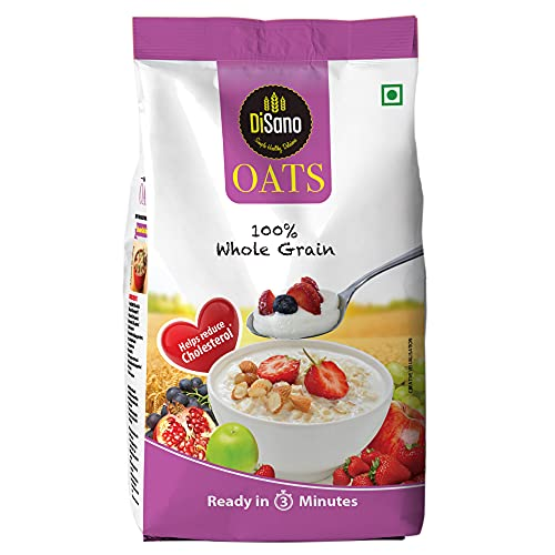DiSano Oats with High in Protein and Fibre Pouch, 1.5 kg pack