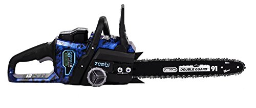 Zombi Lithium Cordless Electric Chainsaw with Battery & Charger Included