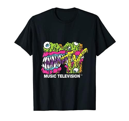 MTV Classic Logo Monster Design T-Shirt