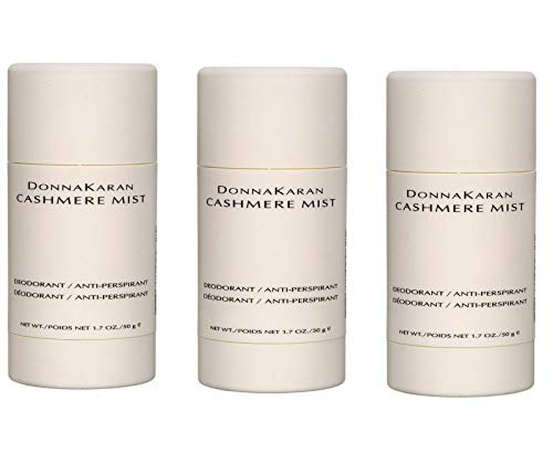 Donna Karan Cashmere Mist Deodorant/Anti-Perspirant 1.7 oz (Pack of 3)