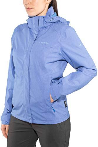 Schöffel Damen Jacke Unwattiert Jacket Easy L3 MEL, palace blue, 40, 20-12135-23067