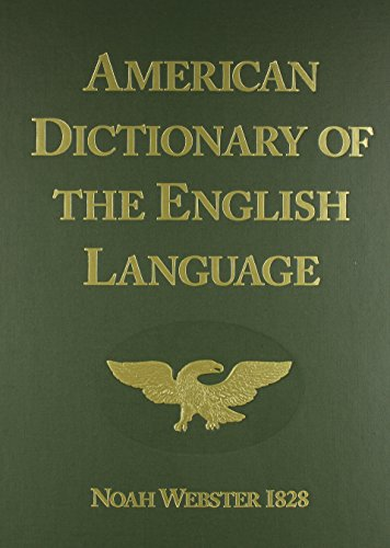American Dictionary of the English Language 1828