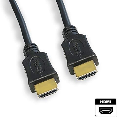 JOLEKO HDMI Kabel Verschiedene Längen | HIGH Speed | Ethernet (vergoldete Stecker, Full HD 1080p, 3D, UHD, 4K) (3,0m)