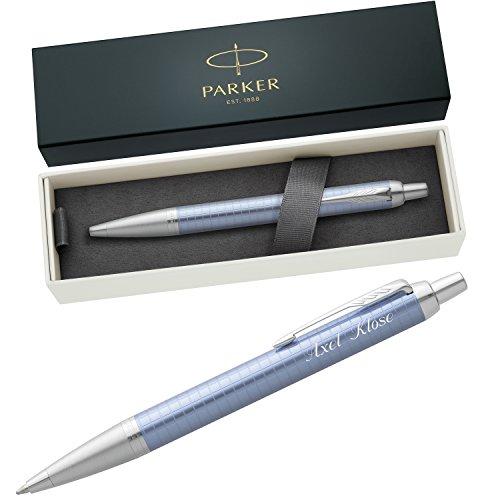 PARKER Kugelschreiber IM PREMIUM Blue C.C. 1931691 mit persönlicher Laser-Gravur