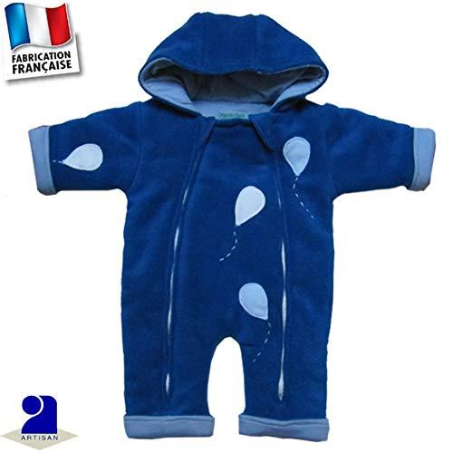 Baby Pack de 2 Babysafe Température Alerte Grenouillères Body nouveau-né 24 mois