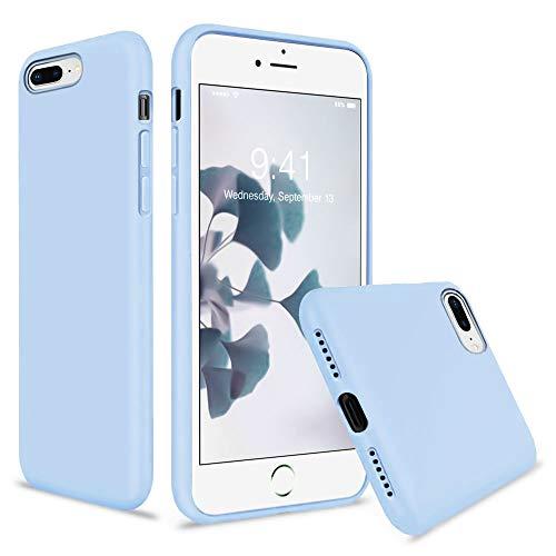 Vooii Coque pour iPhone 8 Plus Coque iPhone 7 Plus Silicone Gel ...