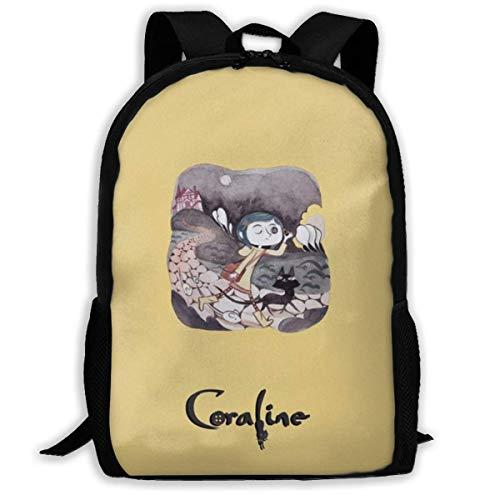 Lawenp Coraline's Halloween Hip Hop Adult Unisex Shoulders Bag For School,Travel,Outdoor,