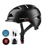 SUNRIMOON Bike Helmet Lightweight Cycling Bicycle Adult Helmet Urban Commuter Helmet with USB Recharge Light...