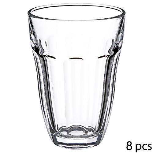 Secret de Gourmet drinkbeker, barok, 21 cl, 8 stuks D. 7,5 x H. 10.5 cm Glas