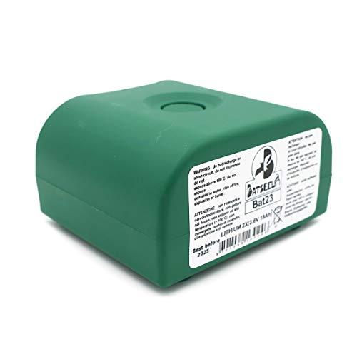 Batteria BATLi23 MPU01X BAT23 2x3.6V 18Ah antifurto Daitem Logisty Atral