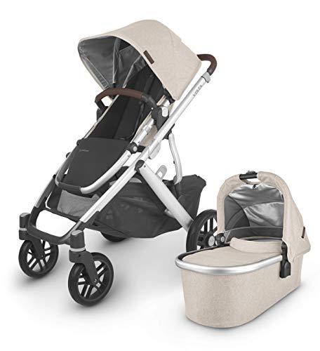 UPPAbaby Vista V2 Stroller - Declan (Oat Melange/Silver/Chestnut Leather)