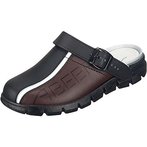 Abeba Dynamic, Damen Clogs & Pantoletten, Mehrfarbig - Schwarz/Braun - Größe: 41
