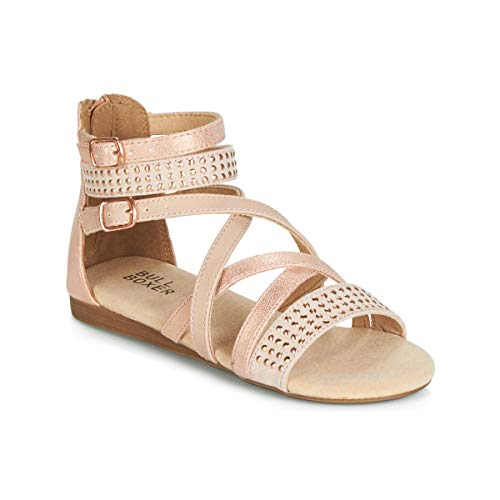 BULLBOXER Sandalen Aed031fis Ros?Gold Madchen - 38 EU
