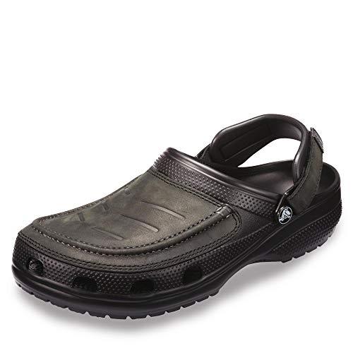 Crocs Men's Yukon Vista Clog ,Black/Black, 9