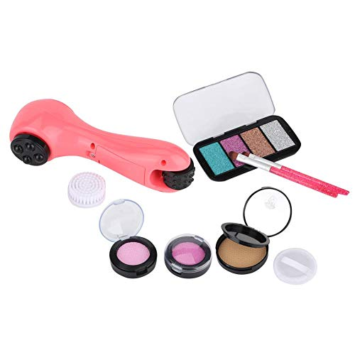 YOUTHINK Little Girl Simulation Electric Cosmetics Kids Pretend Makeup Set Air Cushion Blush Brushes Kit para Baby Boy Girl (10 Piezas/6 Piezas)(10PCS)