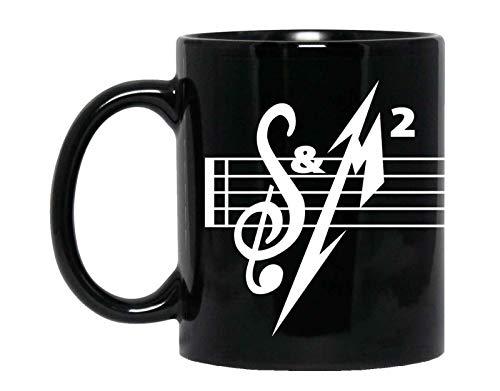 Metallica Kaffeebecher S&M2 Stave schwarz