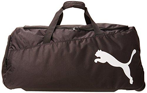PUMA Sporttasche Pro Training Large Wheel Bag, black-White, 65 x 35 x 10 cm