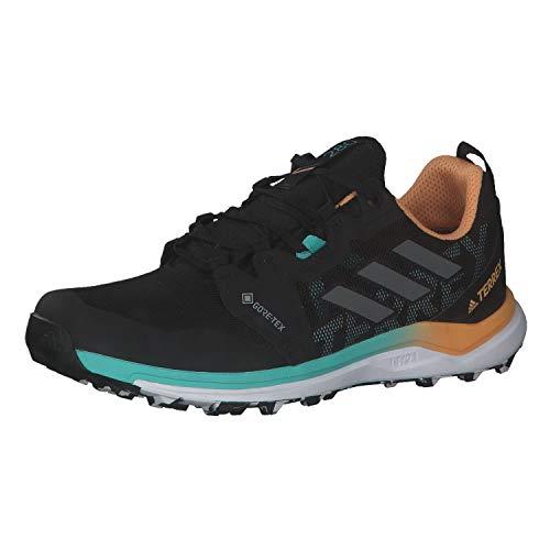 adidas Damen Terrex Agravic GTX W Traillaufschuhe, NEGBÁS/GRICUA/NARBRU, 40 2/3 EU