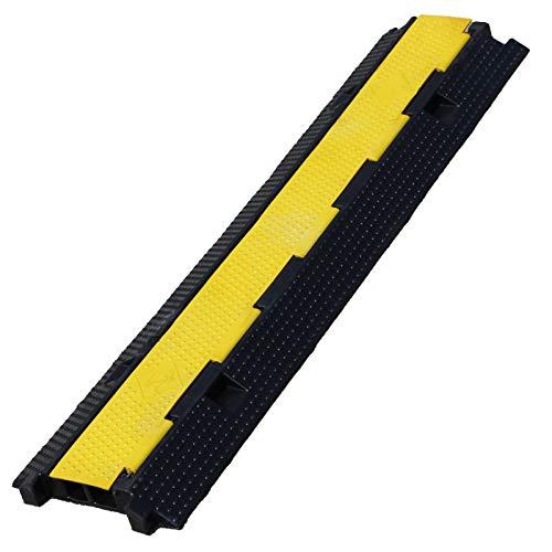 Absperrkette 25 Meter Lang Schwarz Kunstoffkette Warnkette mit 6mm Gliederkette Kette Sicherungskette Parkplatzkette JBS Basics