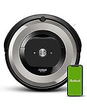 iRobot Roomba e5154 Robotstofzuiger met wifi-verbinding met dubbele rubberen borstels voor alle vloertypen - Ideaal voor huisdieren - Gepersonaliseerde suggesties - Geschikt voor spraakondersteuning