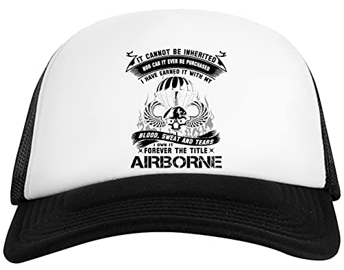 Rundi Airborne Infantry Mom Airborne Jump Wings Airborne Badge Airborne Brot Gorra De Béisbol Unisex Baseball Ball Cap