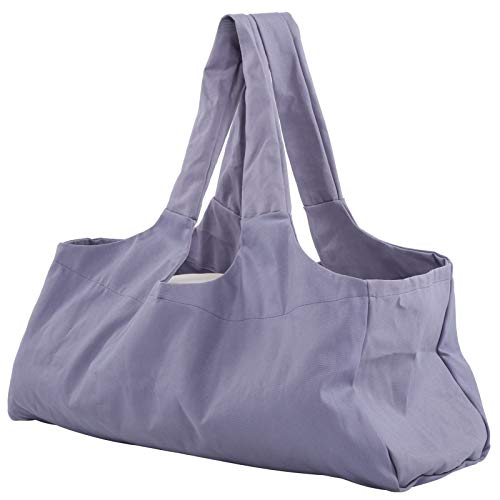 Niunion Bolsa de Yoga, Ligero, Transpirable, de Gran tamaño, Paquete de Yoga, Bolsa de Equipaje, Ropa Deportiva, Bolsa de Viaje, Accesorio, púrpura