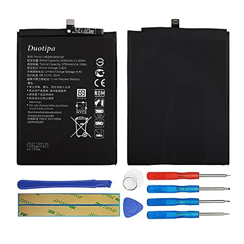 Duotipa Batería de repuesto HB386589ECW compatible con Huawei Mate 20 Lite SNE-LX3 SNE-LX1 P10 Plus batería con herramientas