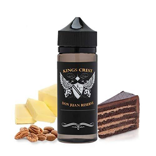 Don Juan Reserve King Crest 100ml Delicioso Tarta de Nueces y Chocolate SIN NICOTINA