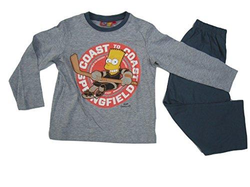 Bart Simpson Schlafanzug (116, grau)