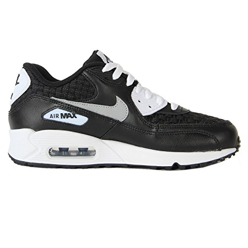 Nike Air Max 90 PREM Black White Youths Trainers 35.5 EU