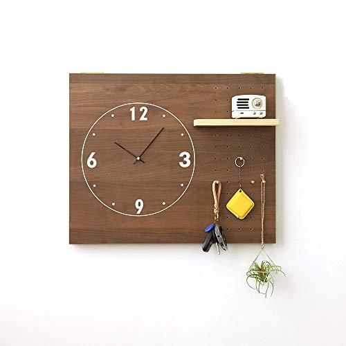 Tablero de clavijas de madera para organización de pared, organizador de pared de tablero de clavijas y decoración del hogar, organización de pared DIV para abrigo, bufanda, bolso, toalla, llave