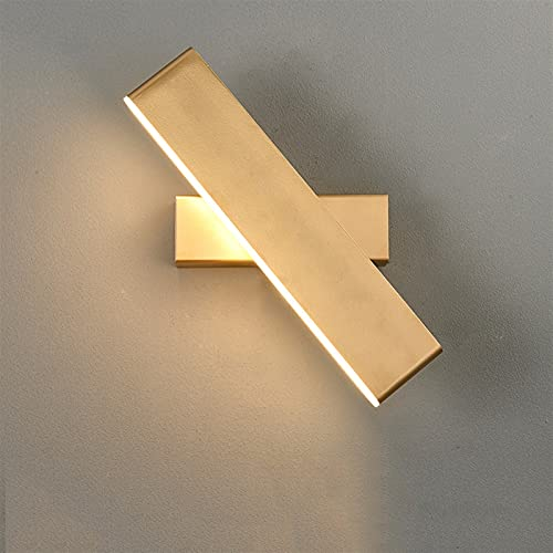 Luces de interior de los esconidos de la pared moderna DIRIGIÓ Lámpara 9W Luz blanca Caliente Tricromático...