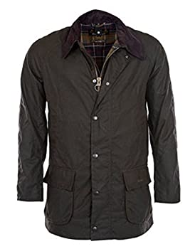 Barbour Ashby Waxed Jacket in Olive  XS