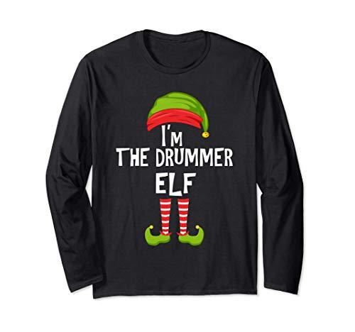 Soy el duende del tambor que hace juego con el pijama de la Manga Larga