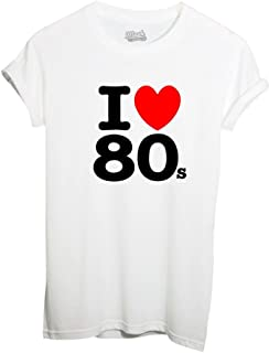 MUSH T-Shirt I Love 80S - Famoso by Dress Your Style