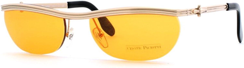 Cesare Paciotti 04M 30 gold Authentic Women Vintage Sunglasses