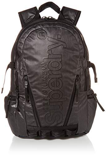 SuperdryTarp BackpackHombreMochilasNegro (Black)11x45x34 Centimeters (B x H x T)