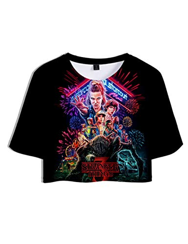 Camiseta Stranger Things Chica, Camiseta Stranger Things 3