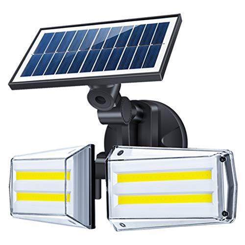 Solarleuchten Außenbewegungssensor 80 COB-LEDs Sicherheitsleuchten Drahtlos 270 ° Weitwinkelleuchten Solar IP65 Wasserdichte LED-Leuchten für den Garten vor dem Haus (1 Stück)