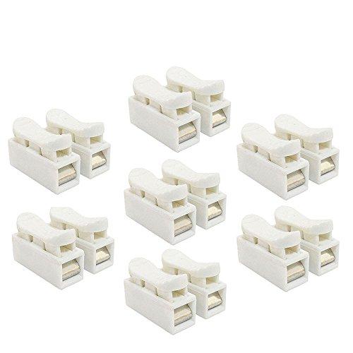 VIPMOON, gefederter Drahtverbinder / Kabelklemme / Anschlussblock, CH2, für LED-Streifen / Verdrahtung