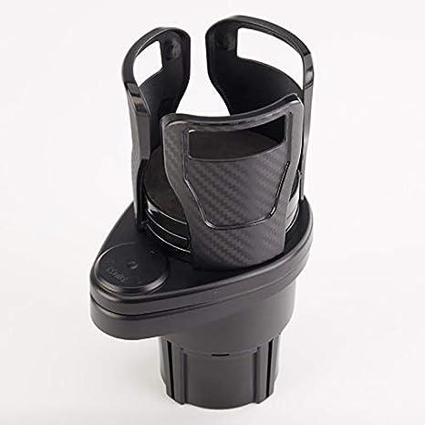 Porte-gobelets multifonctionnels pour Deux Voitures Stecto Porte-gobelets pour Auto Support de t/él/éphone de Support de Tasse de caf/é de Voiture t/élescopique r/églable